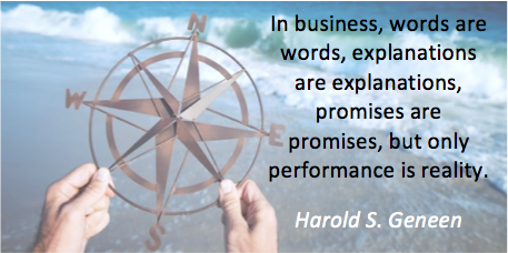Harold Geneen Quote