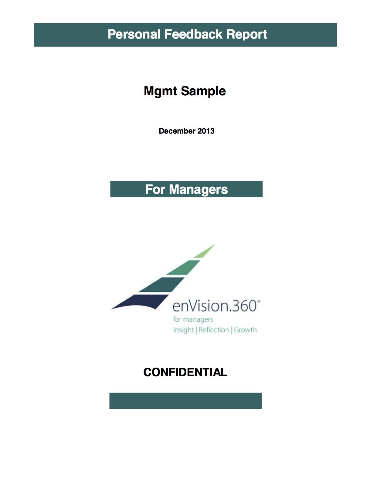 enVision.360 Sample Manager Report